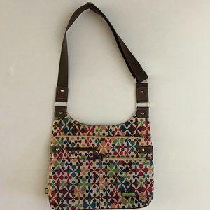 Lily Bloom Hobo Crossbody Bag